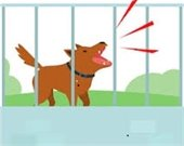 Image of Dog Barking at park