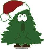 Surprised Christmas Tree