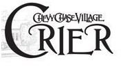 Chevy Chase Village black and white logo with vintage script