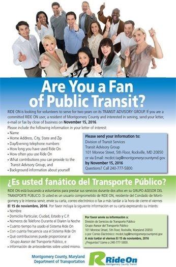 Public Transit Flyer