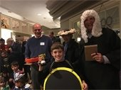 Resident child wins award for Halloween costume