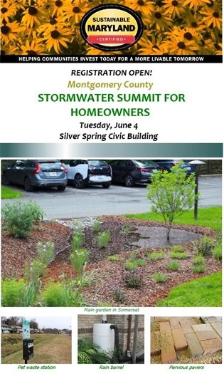 Montgomery County      Stormwater Summit for Homeowners