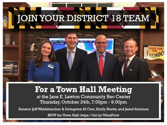District 18 Town Hall RSVP