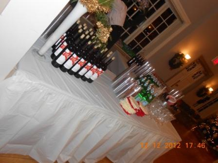 Beverage table